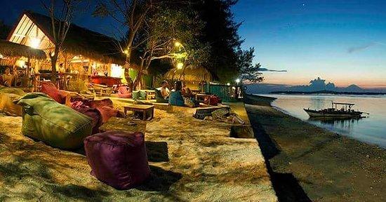 Pura Vida Gili Air Restaurant