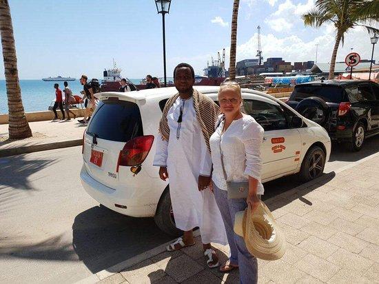 Eddie Taxi Driver Zanzibar