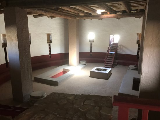 Aztec, NM: Inside the Kiva