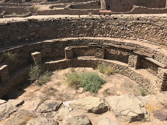 Aztec, NM: A Kiva as found