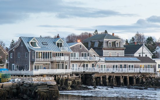 Vinalhaven, ME: The tide sweeps underneath your room and lulls you to sleep.