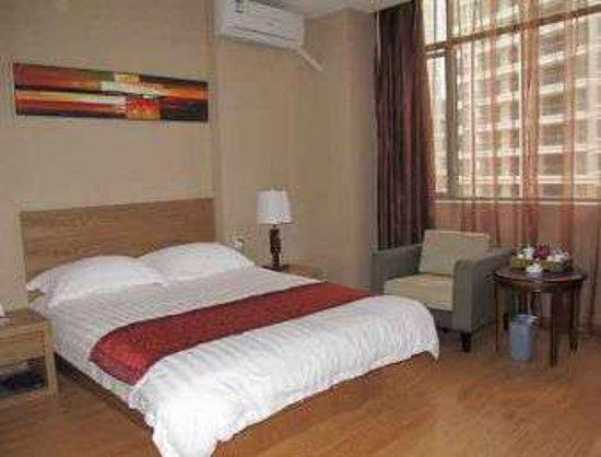 Yong'an, Çin: King Bed Room