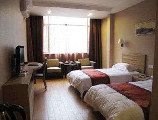 Yong'an, Çin: Twin Bed Room
