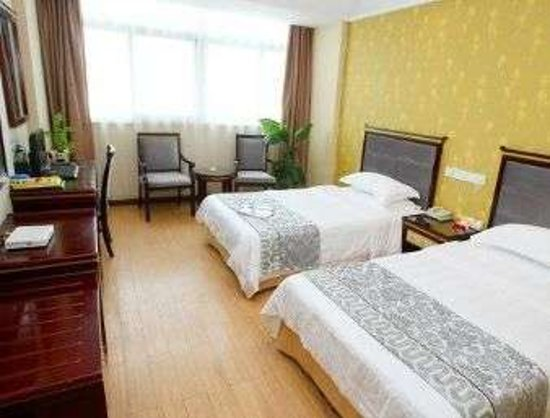 Jingjiang, Chiny: 2 Twin Bed Guest Room