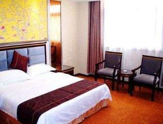 Jingjiang, China: King Bed Guest Room