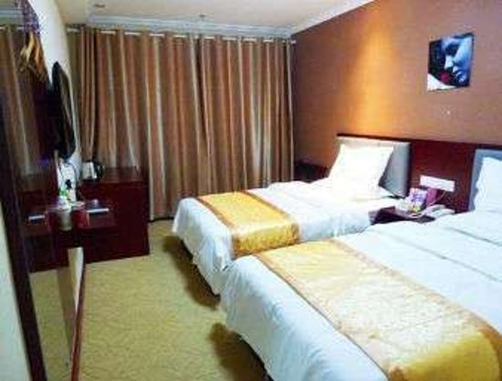 Huaibei, China: Twin Bed Room