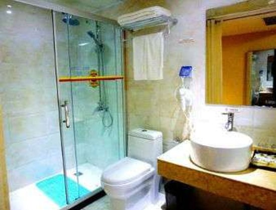 Huaibei, China: Bathroom