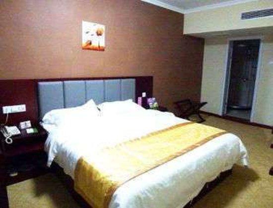 Super 8 Huaibei Gu Cheng Lu: King Bed Room