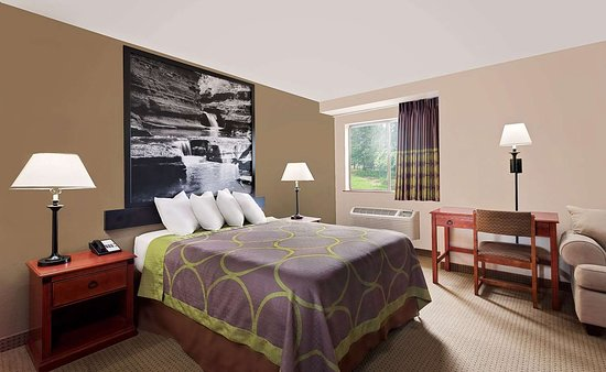 Super 8 by Wyndham Ithaca: Guest room