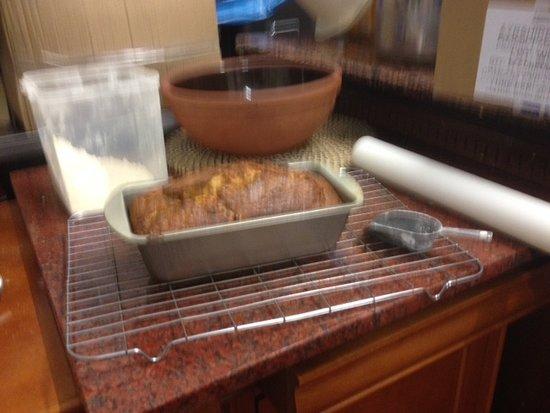 South Ayrshire, UK: Loaf cake