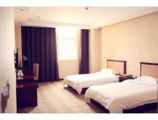 Guannan County, China: 2 Twin Bed Room