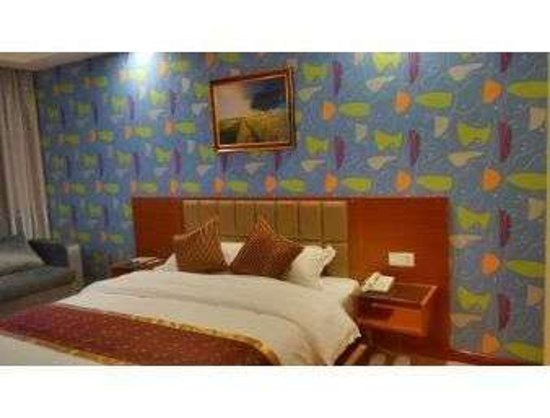 Heze, China: Guest Room