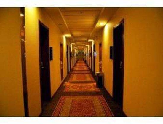 Heze, China: Hallway
