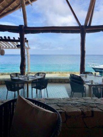 Presidente Inter-Continental Cozumel Resort & Spa: View from resort restaurant