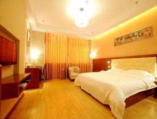 Rushan, Trung Quốc: Double Bed Room