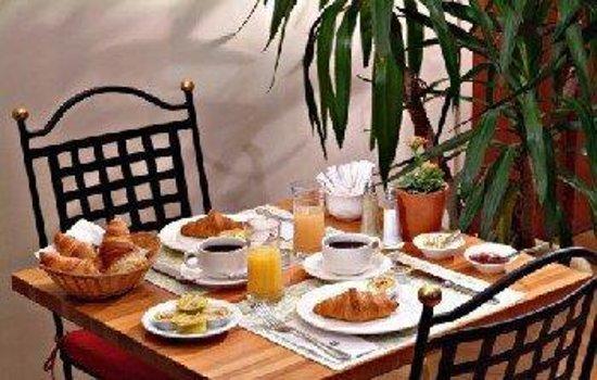 Saint-Josse-ten-Noode, Belgien: Breakfast Area