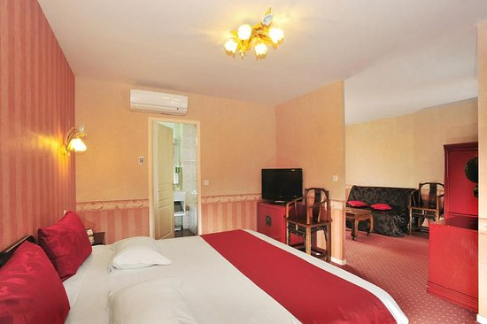 Bruz, France: King Junior Suite