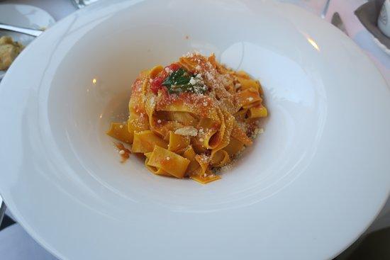 Isola Pescatori, Italy: First course pasta