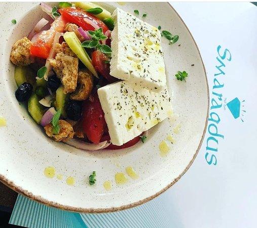 Sougia, Yunani: The Famous Greek Salad