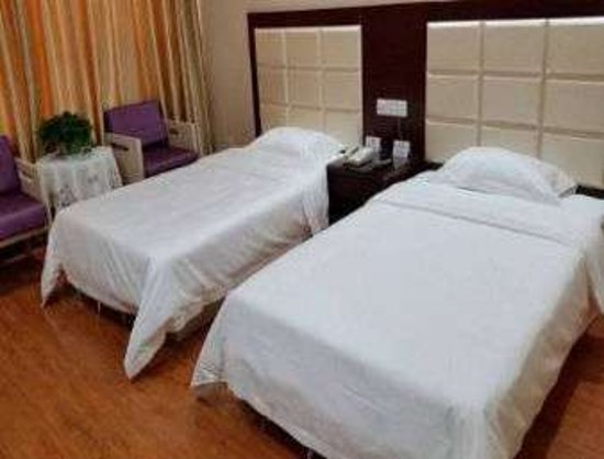 Pingdu, Κίνα: Two Twin Bed Room