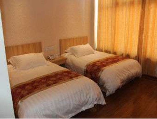 Bazhou, จีน: Two Twin Bed Room