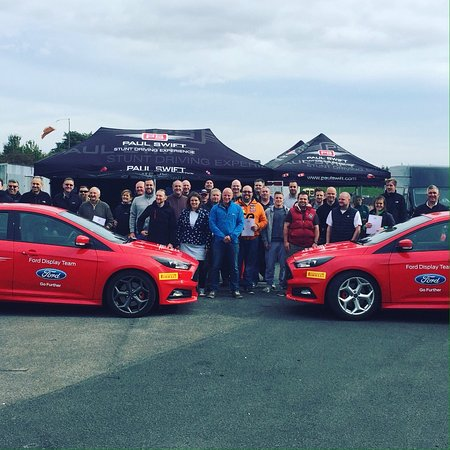 Paul Swift Stunt Driving Experience