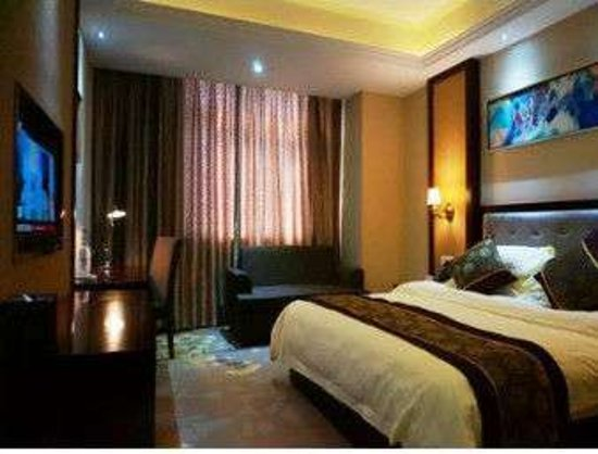 Wuhe County, China: One Bed Guest Room