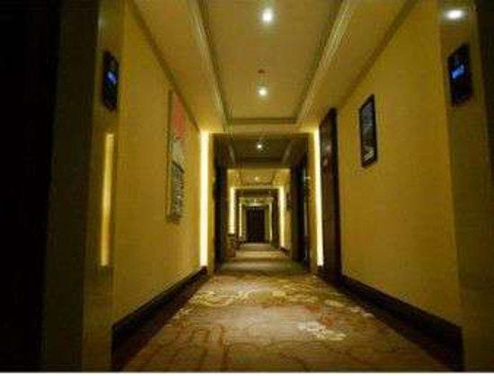 Wuhe County, China: Hallway