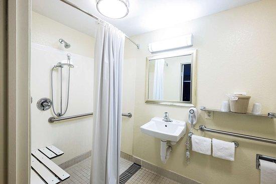 Red Roof Inn Boston - Southborough/Worcester: ADA Bathroom