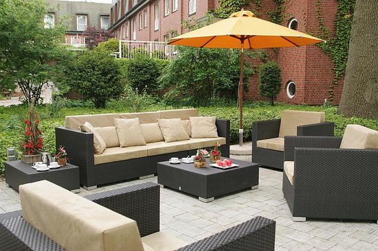 Best Western Premier Alsterkrug Hotel : Terrace