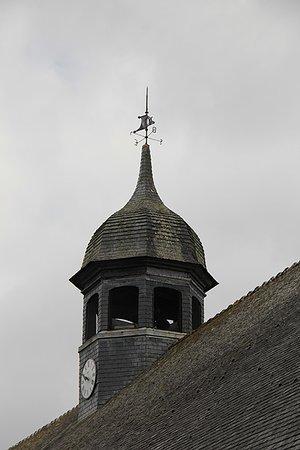 Le Faouet, France: le clocher à bulbe