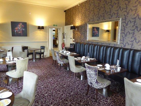 Pontlands Park: Breakfast room