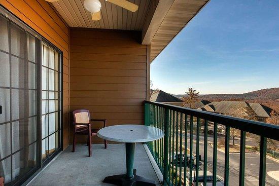 Falls Village Resort: King suite balcony
