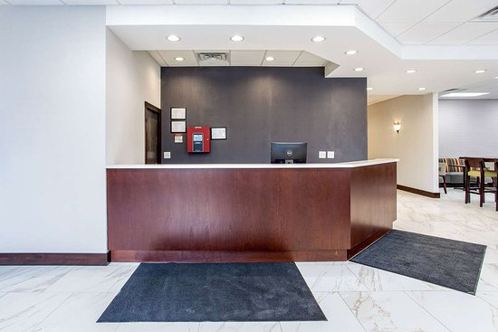 Oxford, Carolina del Norte: Front desk