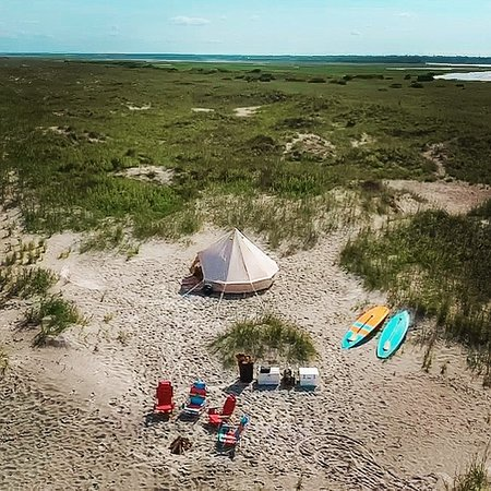 Epic Excursions Glamping In The Bell Tent Masonboro Island