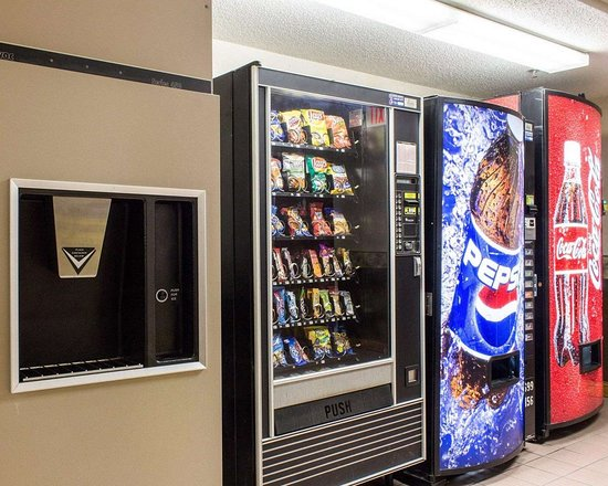 Brandon, Dakota del Sur: Hotel vending areas