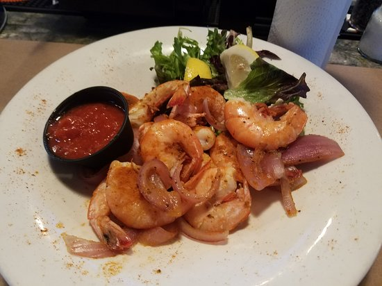 Perry Hall, MD: Shrimp and Onions