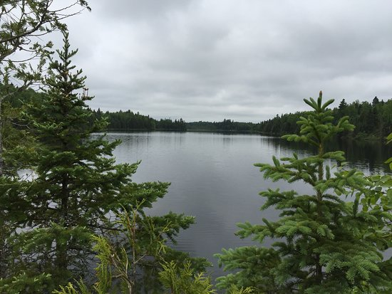 Sonju Two Harbors >> Bear Lake w Bean Lake in the distance - Picture of Superior Hiking Trail, Two Harbors - TripAdvisor