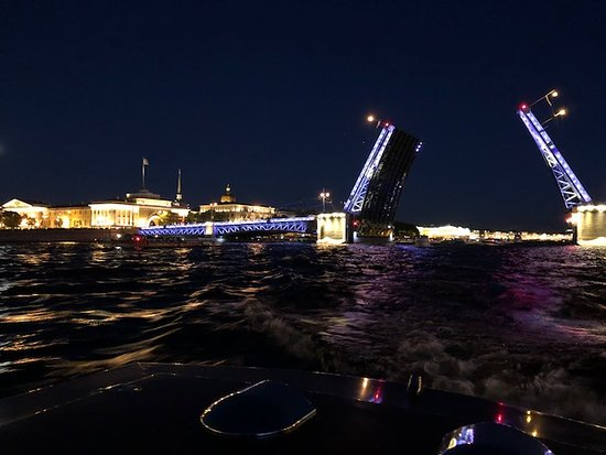 Private Tour: St Petersburg Canal Cruise: Palace Bridge