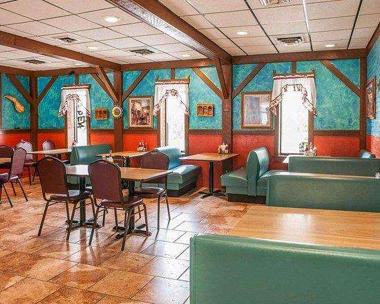 Huntingburg, IN: Hotel restaurant