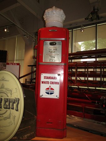 Another old gas pump - Picture of Sioux City Public Museum, Sioux
