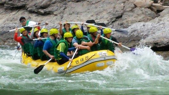 Donggang Yundaechun Rafting