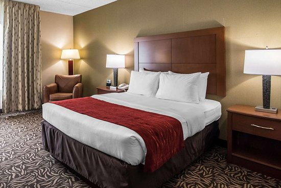 Comfort Inn Cortland: Guest room with double bed(s)