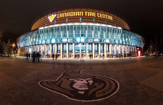 Best Western Plus Ottawa Kanata Hotel & Conference Centre: Canadian Tire Centre