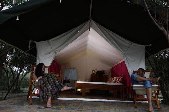 Luxus Camping im Yala Nationalpark...