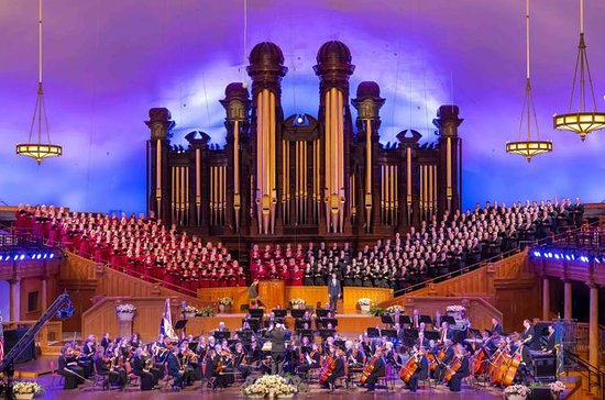 VIP Experience: Mormon Tabernacle...