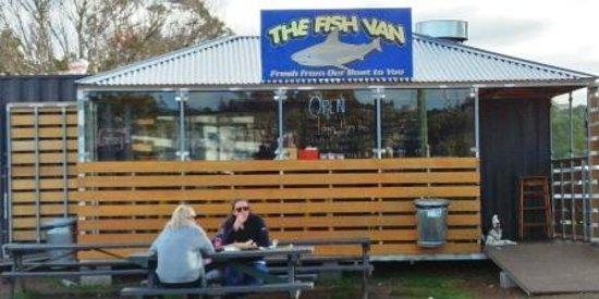 Triabunna, Australia: The Fish Van