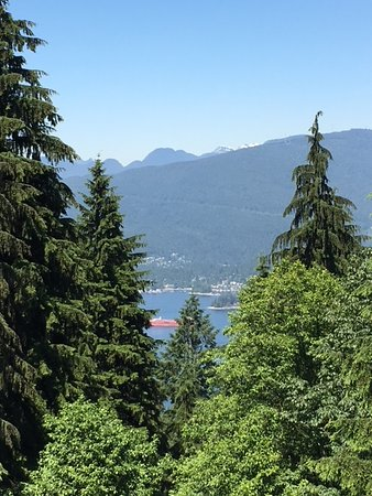 View of Fraser Valley from Diamond Alumni Centre, SFU