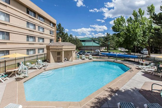Comfort Inn Near Vail Beaver Creek: Hotel pool