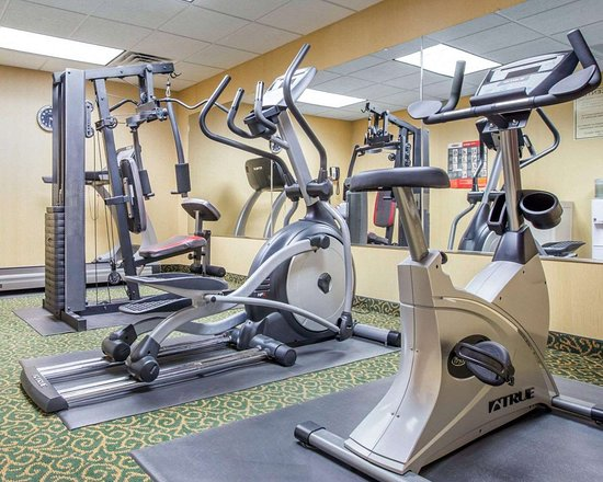 Blackshear, Джорджия: Fitness center with cardio equipment and weights
